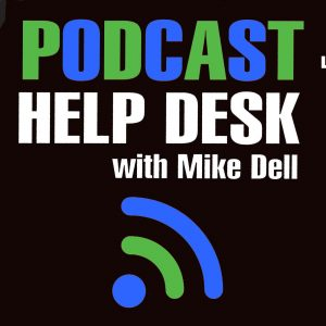 Extra colorful (Green blue and black) Podcast Help Desk Artwork